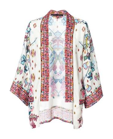 elblogdeanasuero_Tendencia Oriental_Zara Kimono blanco y colores