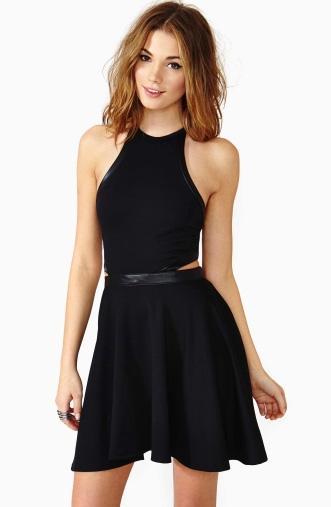 elblogdeanasuero_Vestidos cut out_Nasty Gal vestido negro