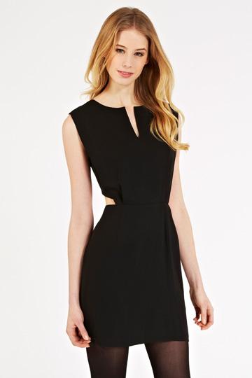 elblogdeanasuero_Vestidos cut out_Oasis vestido negro