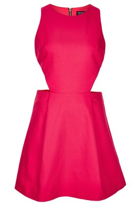 elblogdeanasuero_Vestidos cut out_Topshop vestido de piqué rosa
