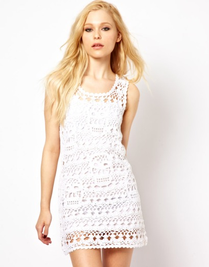 elblogdeanasuero_Croche_Asos Vestido blanco ajustado