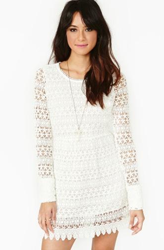 elblogdeanasuero_Croche_Nasty Gal vestido blanco manga larga