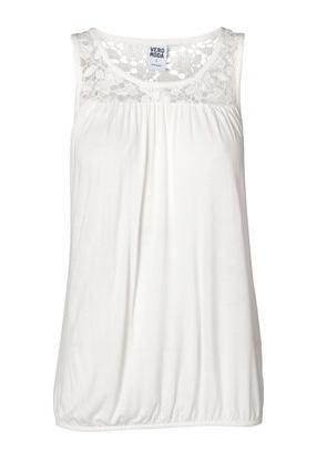 elblogdeanasuero_Croche_Vero Moda Top blanco con elástico