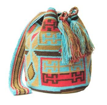 elblogdeanasuero_Bolsos étnicos_Wayuu turquesa my isabelli