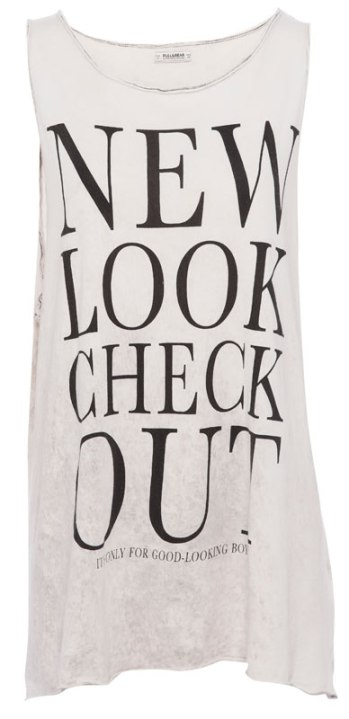 elblogdeanasuero_Camisetas mensaje_Pull & Bear New Look Check Out