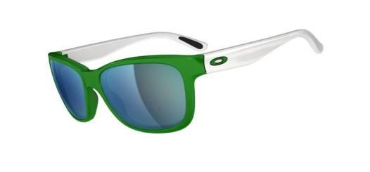 elblogdeanasuero_Gafas de espejo_Oakley verdes y blancas