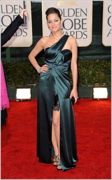 elblogdeanasuero_El estilo de Marion Cotillard_Christian Dior Golden Globes