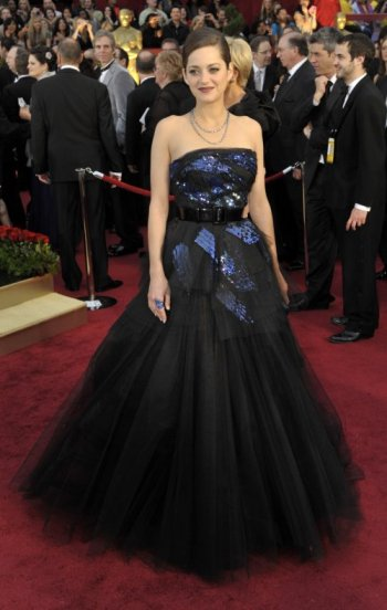 elblogdeanasuero_El estilo de Marion Cotillard_Dior Couture Oscar 2009