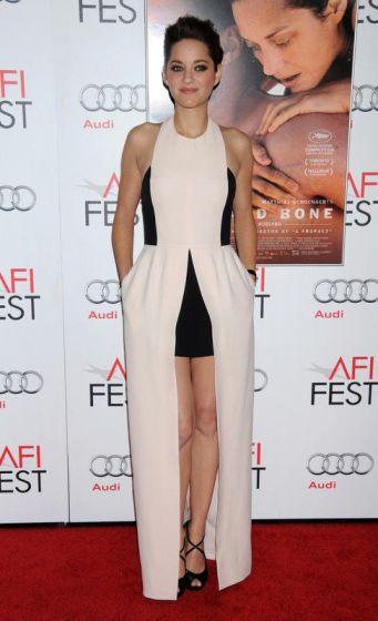 elblogdeanasuero_El estilo de Marion Cotillard_Dior nude AFI Fest 2012