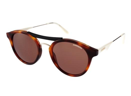 elblogdeanasuero_Gafas de sol redondas_Carrera concha y patillas blancas