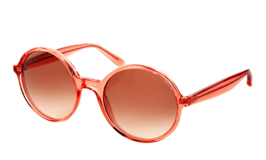 elblogdeanasuero_Gafas de sol redondas_Marc Jacobs coral
