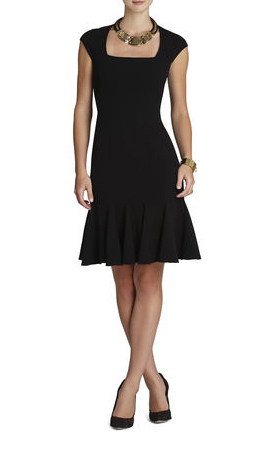 elblogdeanasuero_Little black dress_BCBG entallado y vuelo