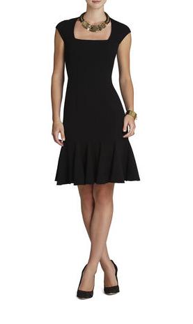 elblogdeanasuero_Little black dress_BCBG entallado y vuelo