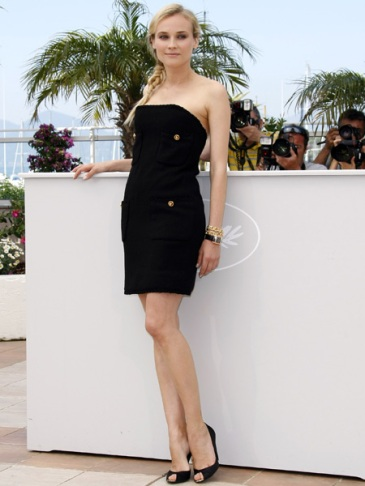 elblogdeanasuero_Little black dress_Diane Kruger detalles marineros