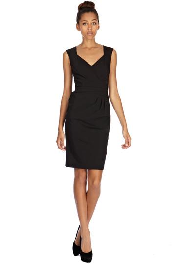 elblogdeanasuero_Little black dress_Oasis clásico drapeado en la cintura