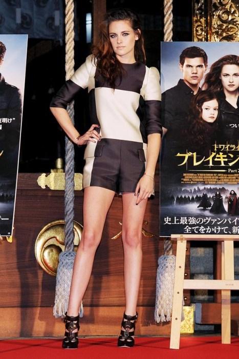 elblogdeanasuero_Monos cortos_Kristen Stewart damero Louis Vuitton