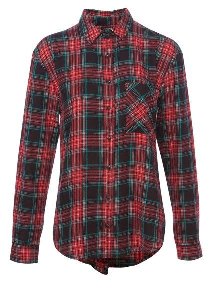 elblogdeanasuero_Tendencia tartán_Pull & Bear camisa un bolsillo