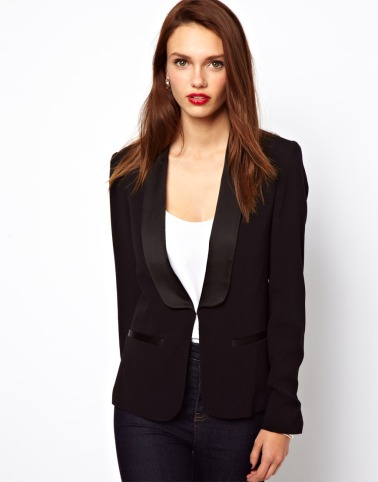 elblogdeanasuero_Blazer negra_Asos solapas de French Connection