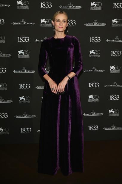 elblogdeanasuero_Festival Cine Venecia 2013_Diane Kruger Alberta Ferretti terciopelo