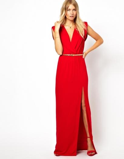 elblogdeanasuero_otoño-invierno rojo_Asos vestido largo