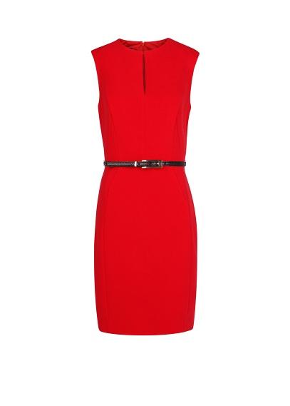 elblogdeanasuero_otoño-invierno rojo_Mango vestido clásico