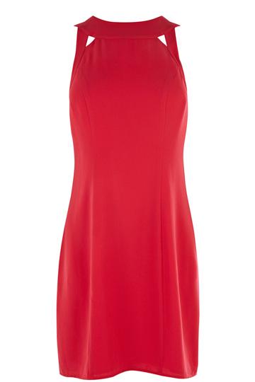 elblogdeanasuero_otoño-invierno rojo_Oasis vestido corto