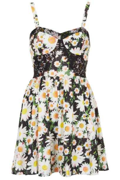 elblogdeanasuero_Estampado flores_Topshop mini vestido corsé