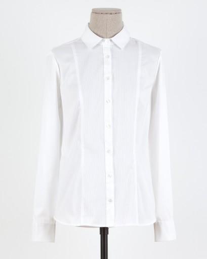 elblogdeanasuero_Fondo de armario Camisa blanca_Trucco jaretas en el pecho