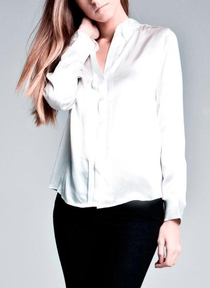 elblogdeanasuero_Fondo de armario Camisa blanca_Uterque satinada