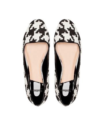 elblogdeanasuero_Cuadros pata de gallo_Stradivarius slippers