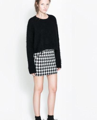 elblogdeanasuero_Cuadros pata de gallo_Zara TRF minifalda
