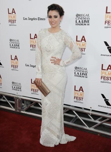 elblogdeanasuero_El estilo de Blanca Suárez_Pucci vestido largo blanco