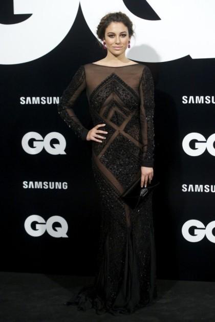 elblogdeanasuero_El estilo de Blanca Suárez_Pucci vestido largo negro transparencias