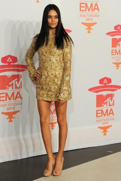 elblogdeanasuero_EMA 2013_Shanina Shaik modelo vestido paillettes
