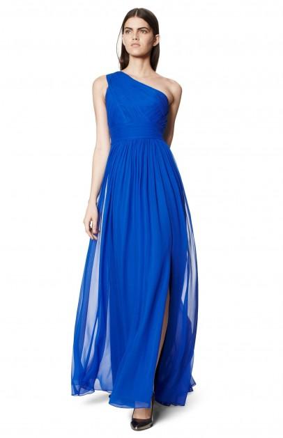 Vestido azul para ir a una boda