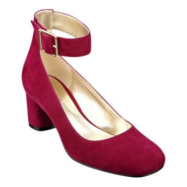 elblogdeanasuero_Zapatos Mary Jane_Nine West ante rojos