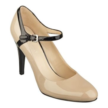 elblogdeanasuero_Zapatos Mary Jane_Nine West tacón alto bicolor