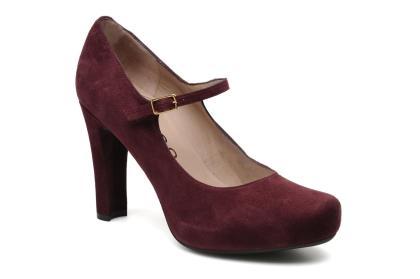 elblogdeanasuero_Zapatos Mary Jane_Unisa de ante Burgundy