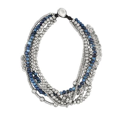elblogdeanasuero_Regalos de Navidad 2013_Uno de 50 gargantilla plata y azul