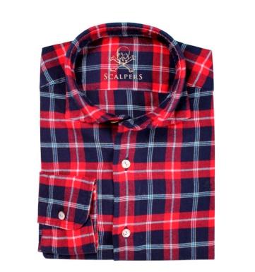 elblogdeanasuero_Regalos de Navidad_Scalpers camisa cuadros rojo y azul
