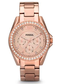 elblogdeanasuero_Regalos Navidad 2013-2014_Fossil reloj rosa brillantes