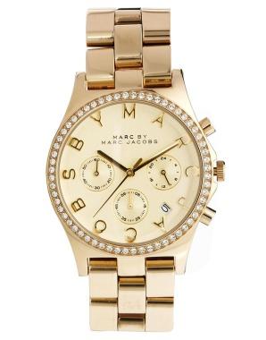 elblogdeanasuero_Regalos Navidad 2013-2014_Marc Jacobs reloj oro brillantes