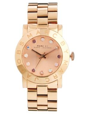 elblogdeanasuero_Regalos Navidad 2013-2014_Marc Jacobs reloj rosa piedras colores