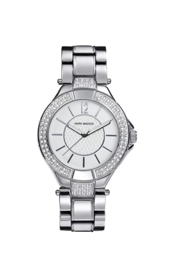 elblogdeanasuero_Regalos Navidad 2013-2014_Mark Maddox reloj plateado brillantes