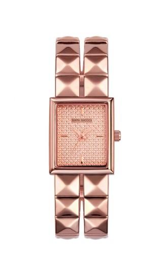 elblogdeanasuero_Regalos Navidad 2013-2014_Mark Maddox reloj rosa tachuelas