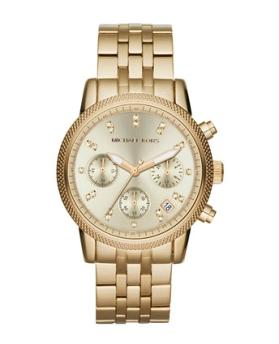 elblogdeanasuero_Regalos Navidad 2013-2014_Michael Kors reloj oro esferas