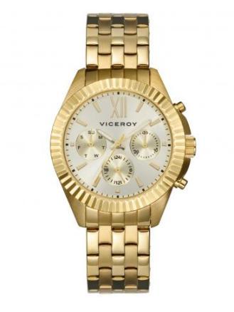 elblogdeanasuero_Regalos Navidad 2013-2014_Viceroy reloj dorado esferas