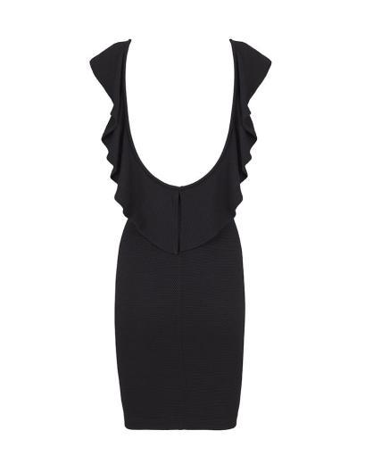 elblogdeanasuero_Vestidos Navidad 2013_Blanco vestido negro escote espalda2