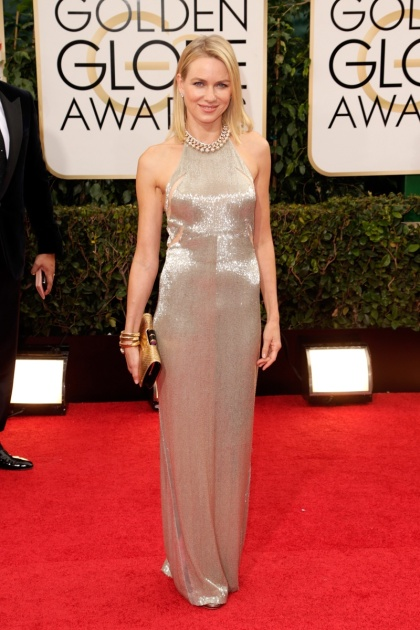 elblogdeanasuero_Globos de Oro 2014_Naomi Watts Tom Ford metalizado