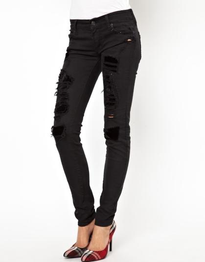 elblogdeanasuero_Ripped jeans_Asos negros